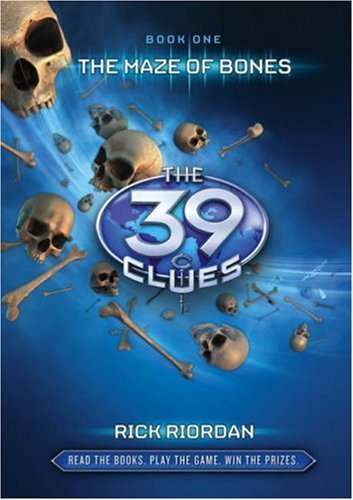 The 39 Clues book cover